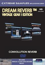 Xtreme samples Dream reverb vintage Gear 1 HD (reverb impulse response Library)