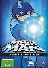 Mega Man (TV) Complete Collection DVD R4 NEW