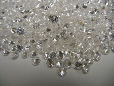 100 cubic zirconia 57 facet round stones,4.5mm crystal