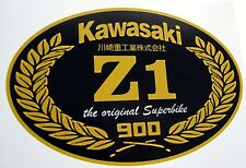 KAWASAKI Z1 Carenado Tanque de pantalla 900 Decal Sticker