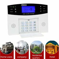 Home Security GSM Alarm System Alarm Host with LCD Call for Intruder Burglar FR