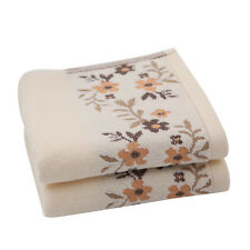 Household Hand Towels Soft Washcloth Cotton Bathroom Absorbent Face Cloth Towel