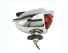 NEW BICYCLE REAR DUMMY LIGHT BULLET RED W/WING BEACH CRUISER LOWRIDER  BIKES