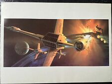 Star Wars Print 1983 Ralph McQuarrie Vintage Fantasy Art Return Of The Jedi 19