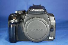 FOTOCAMERA DIGITALE CANON EOS 350D CORPO 8 MPX NERO FUNZIONAMENTO PERFETTO  FO