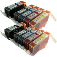 10 Compatible CANON PGI-520 and CLI-521 printer ink cartridges. VAT INVOICE.