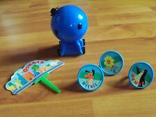 Vintage 2003 Deco Pac Oswald the Octopus Pullback Cake Pick Three Rings NOS