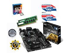 Bundle Intel Core i7 7700K 4x4,50GHz Kaby Lake+MSI Z270 PC Mate+32GB DDR4 PC2400