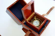 WWI ELGIN Ships Marine Chronometer Deck Watch FREESPRUNG Grade 367 Class 90
