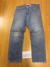 levi 505 regular feather destroyed grunge jean tag 36x30 Meas 34x29 22575F