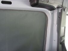Mercedes Sprinter van curtain rear quarter grey Cordura/silver driver plastic