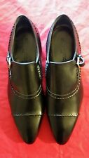 Men's Authentic Louis Vuitton Dress Shoes Size 10.5 Lord Loafer New Black Color