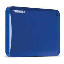 Toshiba Canvio Connect II 2TB USB 3.0 External Hard Drive, Blue  HDTC820XL3C1