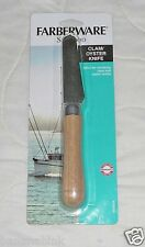 Farberware Seafood Clam Oyster Knife Shucking Shells Stainless Steel Kitchen
