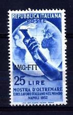TRIESTE - Zona A - 1952 - Mostra d'Oltremare e del lavoro italiano nel mondo -