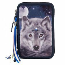 TOPModel Fantasy Model Filled Pencil Case, Printed Wolf