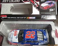 BRAND NEW, 1/24 ACTION 2017 FORD FUSION, #22, AAA INSURANCE, JOEY LOGANO
