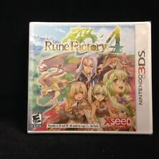 Rune Factory 4 (Nintendo 3DS) Brand New / Sealed