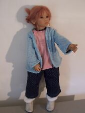 "Annette Himstedt 2004 - PAULINE Doll 28"" Very Nice"