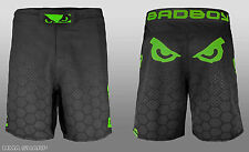Bad Boy Men's Legacy III MMA Shorts Black/Green Small