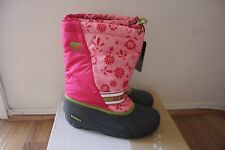 SOREL Kids Girls Youth Cub Graphic 13 Winter Boots NEW Size 6 Coral Pink