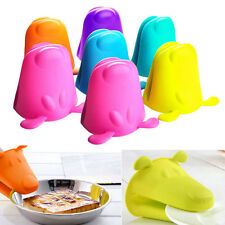 Dog Silicone Heat-resistant Kitchen Oven Baking Tool Glove Pot Mitt Holder Tool