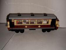 GENUINE LEGO TRAIN CUSTOM COACH / CARRIAGE / DINING CAR FOR 10194, 10173, 10219