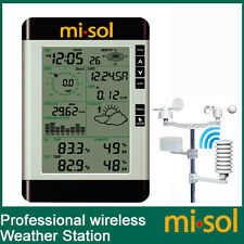 Pro Wireless Weather Station with PC connection, wind speed, weather forecast