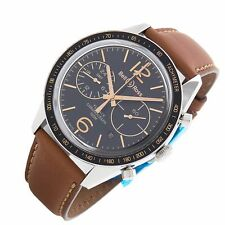 Bell & Ross Vintage 126 Flyback Chronograph GMT Limited Edition mens watch