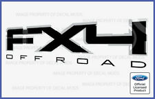 2010 Ford F150 FX4 Off Road Decals Stickers Black - Style FB Truck Bed Side