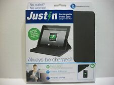 NIB JUSTiN RECHARGEABLE POWER CASE FOR IPAD BY INNOVATIVE TECHNOLOGY ITJ-4238
