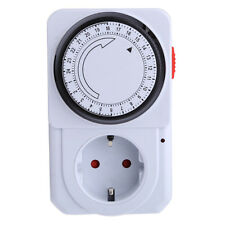 24Hours Power Saver Controller Outlet Time Switch Socket Programmable Timer Plug