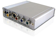 Professional Component Video To Composite RCA S-Video Converter For HD Recording