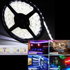 New 5M 300Leds 3528 SMD LED Flexible Light Strip Cool White w/ Power & Connector