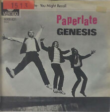 "7"" Single - Genesis - Paperlate - s103 - washed & cleaned"