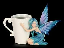 Amy Brown *Comfort* Fairy Figurine ~ Coffee & Tea Figurine ~ BNIB