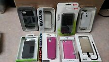 9 Assorted Brand New iphone 5 5C 5S, Samsung Galxay S5 Phone Cases ~ Free S/H