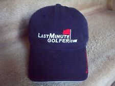 NEW~LAST MINUTE GOLFER DOT COM~BALL CAP/HAT~'POINT, CLICK AND GOLF!'~COOL PROMO!