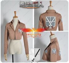 Attack on Titan Shingeki no Kyojin Training Corps Cosplay Costume Jacket Only