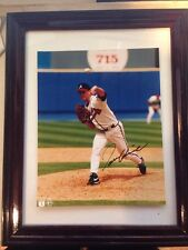 TOM GLAVINE Signed Autographed FRAMED 8 X 10 Baseball Photo AUTO PICTURE HOF