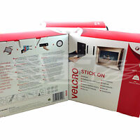 VELCRO¨ STICK ON 20mm x 10 meters BLACK HOOK AND LOOP SELF ADHESIVE STICKY BACK