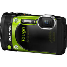 Olympus Stylus Tough TG-870 Waterproof Digital Camera in Green