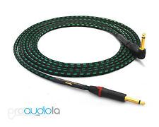 "Evidence Audio Lyric HG Instrument Cable | Neutrik Gold 1/4"" TS to 90º 