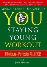 YOU STAYING YOUNG WORKOUT (DVD) 3 Workouts by Dr. OZ and ROIZEN- FREE SHIPPING