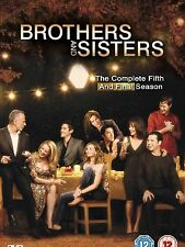 BROTHERS AND SISTERS COMPLETE SERIES 5 DVD Box Set + EXTRAS Season New 5th Fifth