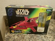 STAR WARS POWER OF THE FORCE CLOUD CAR W/ PILOT  KENNER 1997