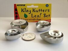 Kemper Kutters, Leaf plunge style clay cutter also for fondant and polymer clay