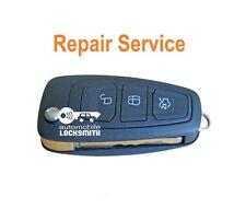Repair service for Ford 3 button remote flip key fob PCB BOARD REPAIR FIX