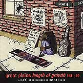 Length of Growth, 1981-1989 * by The Great Plains (CD, Aug-2000, 2 Discs, Old 3C