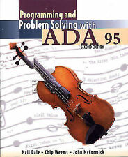 Programming and Problem Solving with Ada 95, McCormick, John W., Weems, Chip, Da